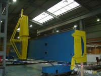 Accoustic Wind Tunnel Gantry