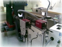 Target metrology workstation used in laser research facility