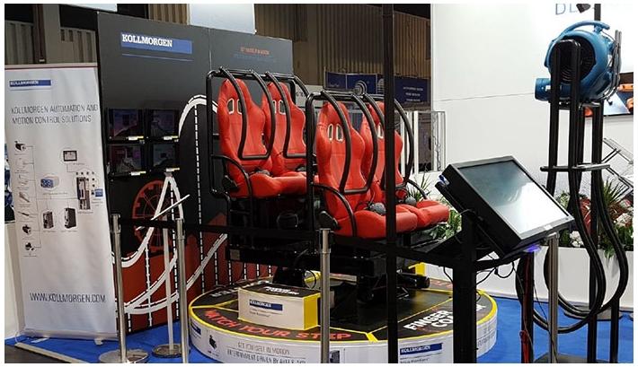Virtual reality and servo motors: a dynamic partnership
