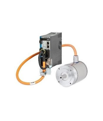 Kollmorgen - AKD Servo Drive and AKMH Stainless Steel Servo Motor One Cable Package